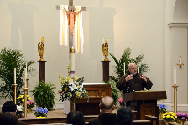 """Fr. Larry celebrates Pope Francis' Jubilee Year of Mercy in his talk, """"The Mystery of Mercy"""""""